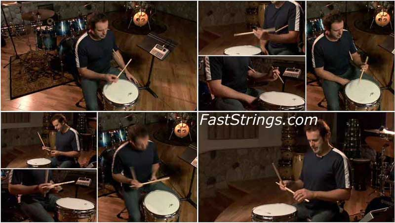 Mike Michalkow - Drumming System 2.0, DVD 4-6