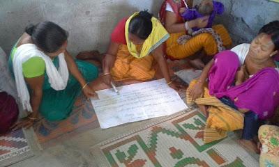 Dream building, self assessment and action plan at Simaluguri, Udalguri