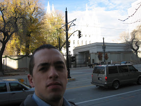 in the background, all washed out, is The Temple. And I do mean The Temple.