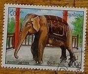 timbre Laos 008