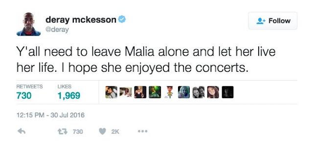 Malia obama twitter