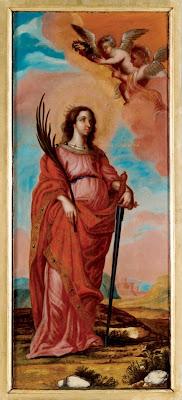 Святая Великомученица Екатерина. Икона местного ряда иконостаса