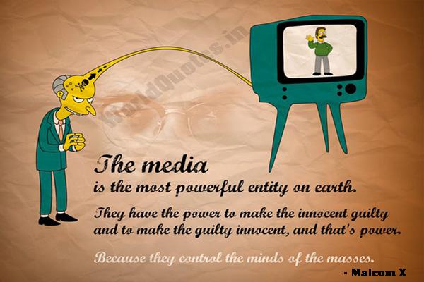 Media Quotes, Malcom X Quotes