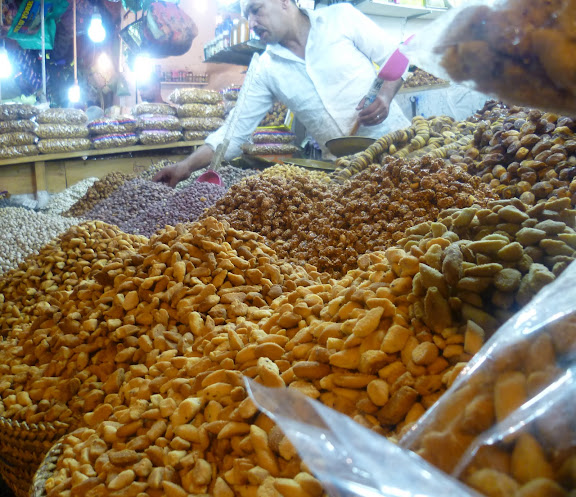 Nuts in the souqs