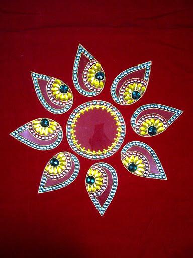 Rangoli Diwali Decoration Deya Designs Latest 2011 Latest