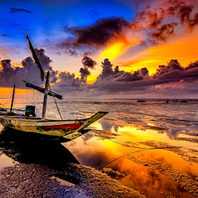 sunlight by Andy Bagus - Transportation Boats