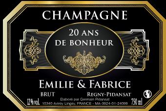 personnalisation dtiquettes de champagne - Tiquette Personnalise Champagne Mariage