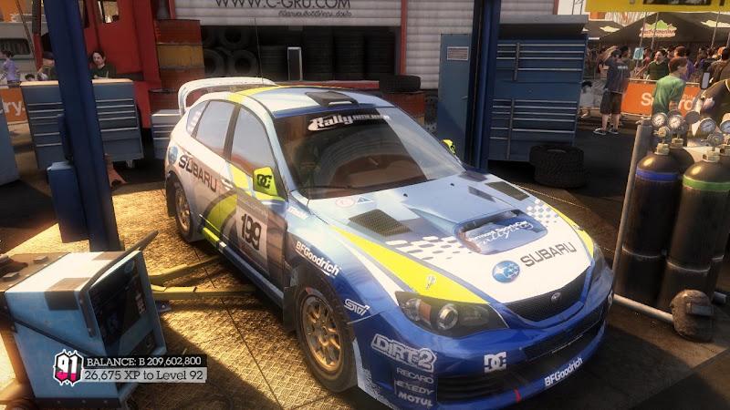 รายการรถกลุ่ม Rally ใน DiRT2 Sti-00