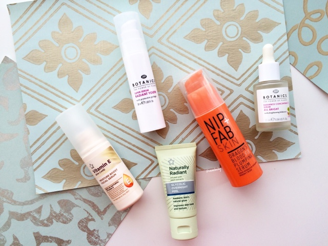 top inexpensive skincare drugstore products