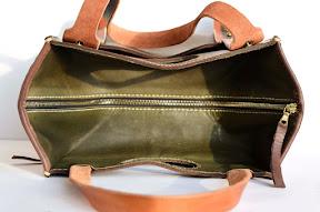 кожаная сумка ручной работы № 33 LW