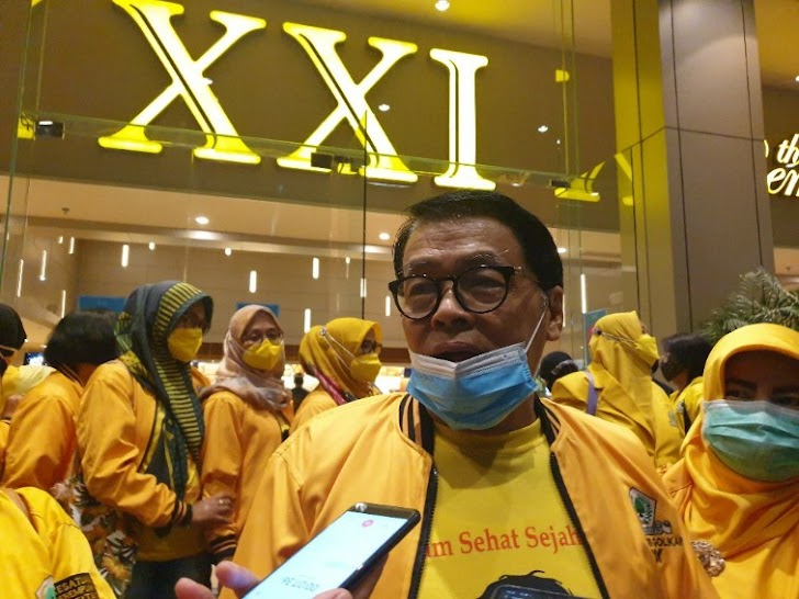 Anggota DPR RI Gandung Pardiman Ajak Kader Golkar DIY Nobar Pulihkan Film Nasional