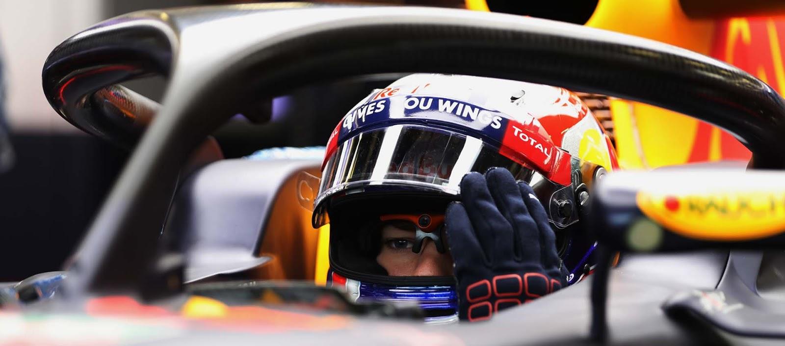 Pierre Gasly y Red Bull prueban el Halo 2 en el test de Silverstone