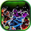 Ninja and Turtle :Shadow Fight icon