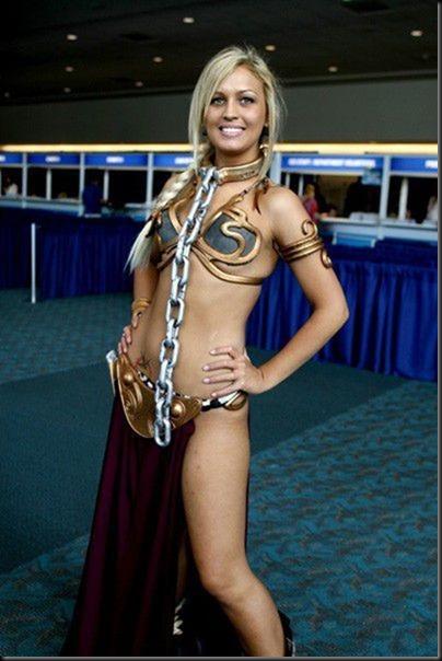 Princess Leia - Golden Bikini Cosplay_865825-0029