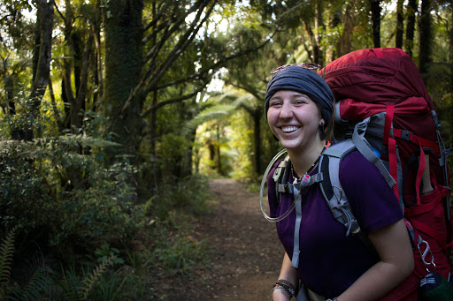 Kaimai-Mamaku Forest Park: A happy hiker