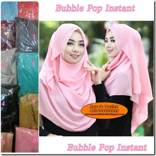 bubble pop instant seri
