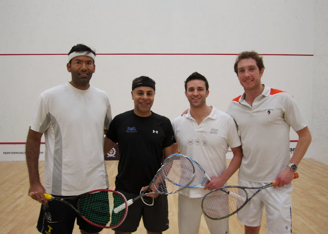 East Draw: Finalists - Baset Chaudhry (New York) & Amrit Kanwal; Champions - Jon Hyett & Dan Roberts (Boston)