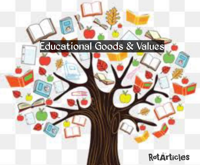 Educational Goods and Values