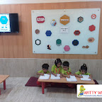 INTRODUCTION OF HEXAGON TO NURESRY SECTION (2017-18) AT WITTY WORLD, BANGUR NAGAR