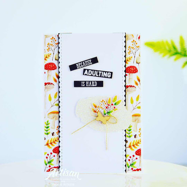jaxxcraftycreations, How Sweet It Is DSP, More Than Words, Stampin' Up!, Story Label Punch, Sale-a-Bration 2019, Artisan Design Team 2019