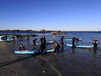 Stage de paddle