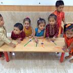 Celebration of Raksh Bandhan by Playgroup [2016-17] at Witty World, Bangur Nagar