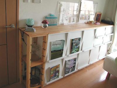 本棚の天板