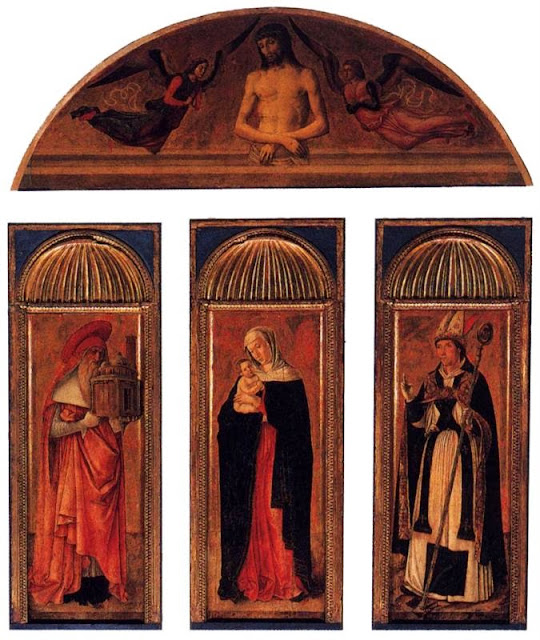 Jacopo Bellini - Triptych of the Virgin