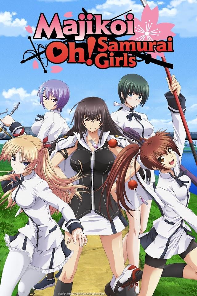 Majikoi Oh! Samurai Girls