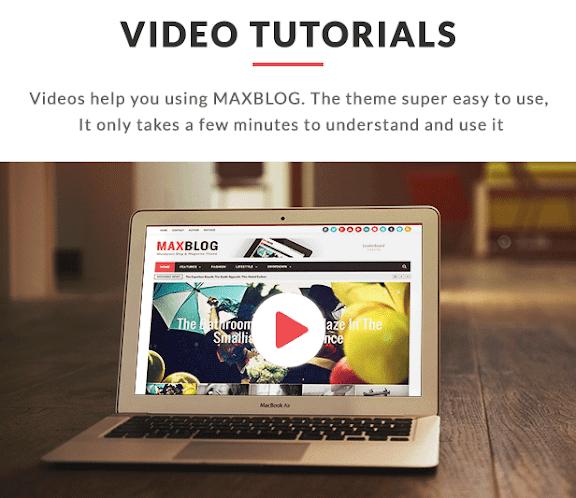 MaxBlog - Responsive Magazine Blogger Template - 19