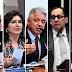 CINCO SENADORES DISPUTAM A PRESIDÊNCIA DO SENADO NESTA SEGUNDA-FEIRA