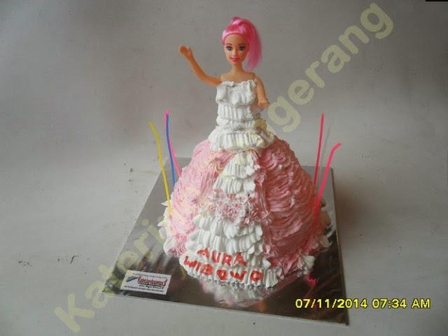 Kue Ulang Tahun Barbie Perumnas Tangerang