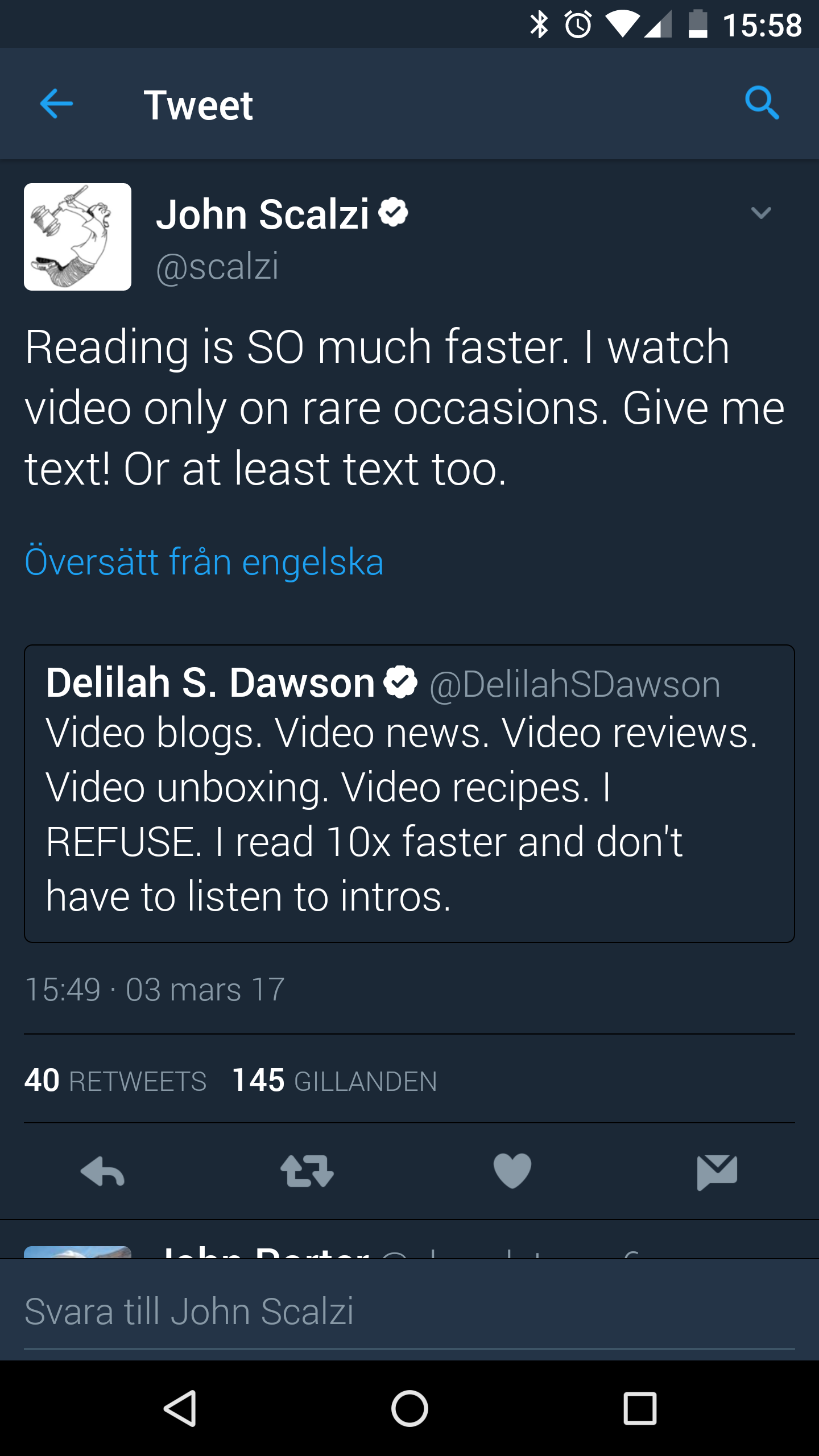 Reading or Watching videos?