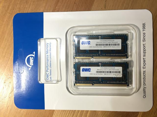 OWC 8G RAM