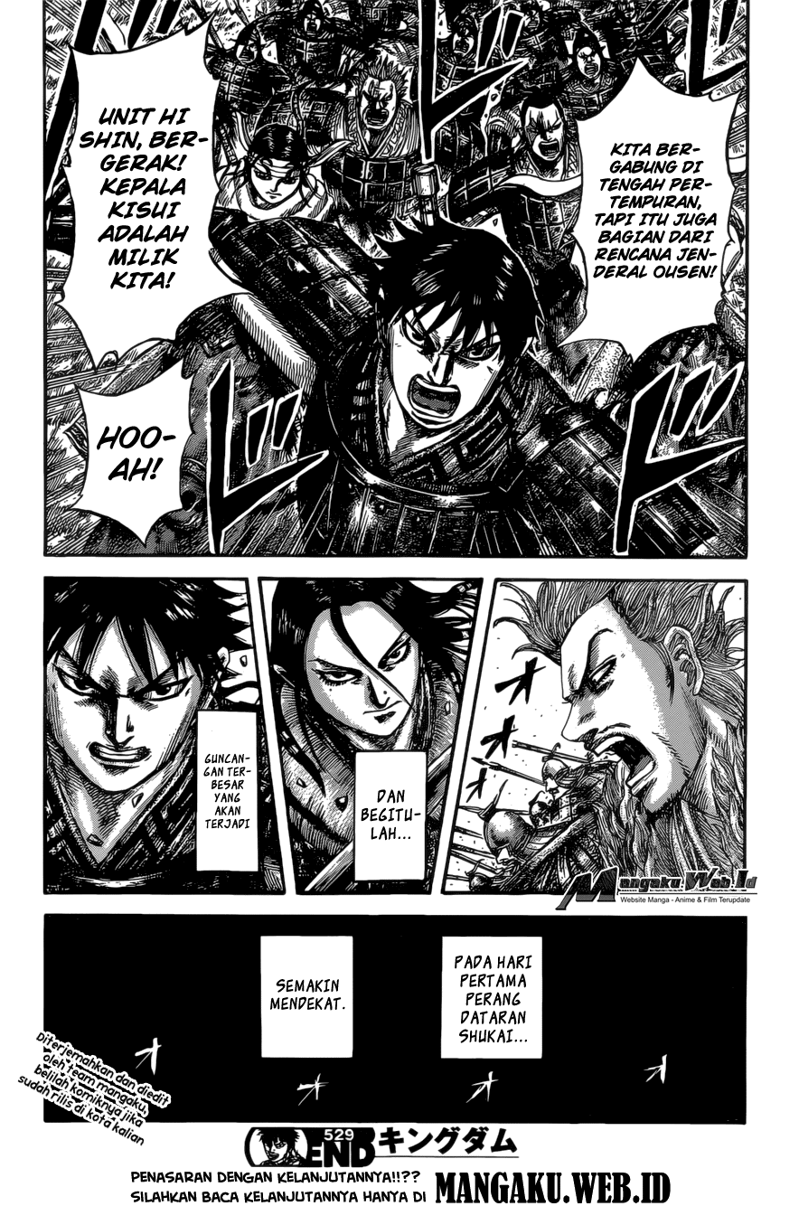 Baca Manga Kingdom Chapter 529 Komik Station