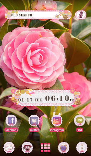 flower Theme Camellia 1.0.1 Windows u7528 1