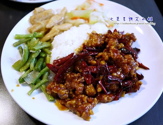 13 左宗棠雞飯