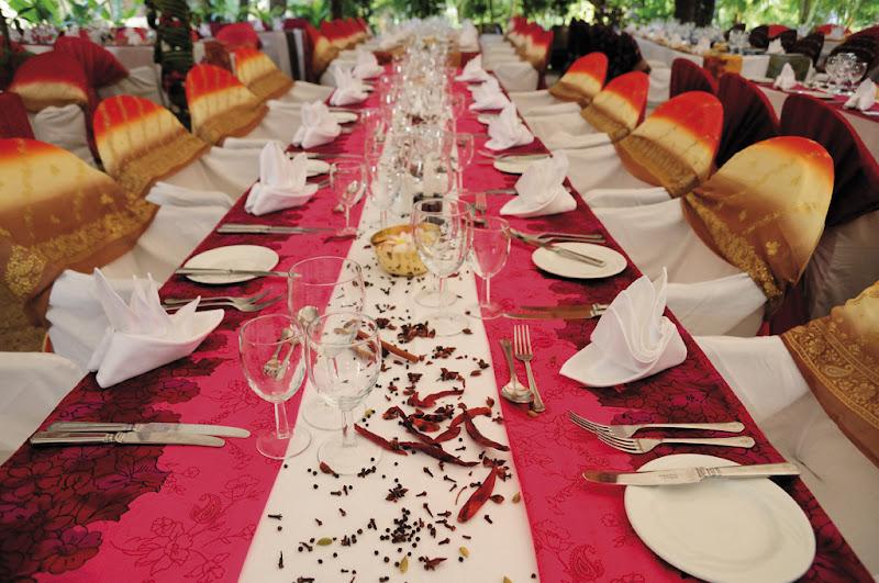 A gala meal