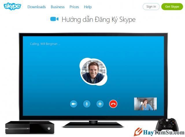 Hướng dẫn lập nick Skype – Đăng ký Skype