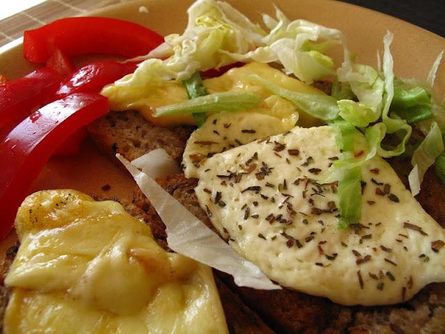 Sery topione na patelni, oscypek i biały ser góralski :)