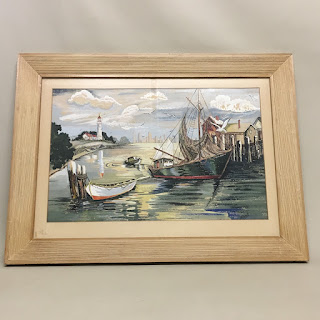 CH French Maritime Painting