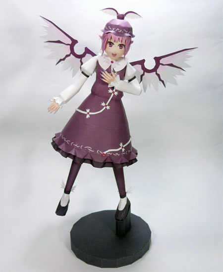 Touhou Project Mystia Lorelei Papercraft v2
