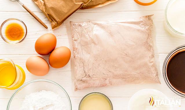 poke cake ingredients