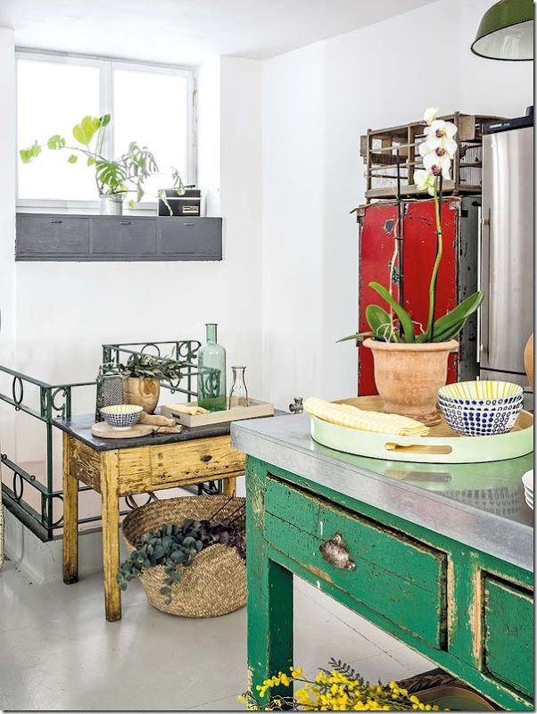casa-loft-stile-boho-chic- industriale (6)