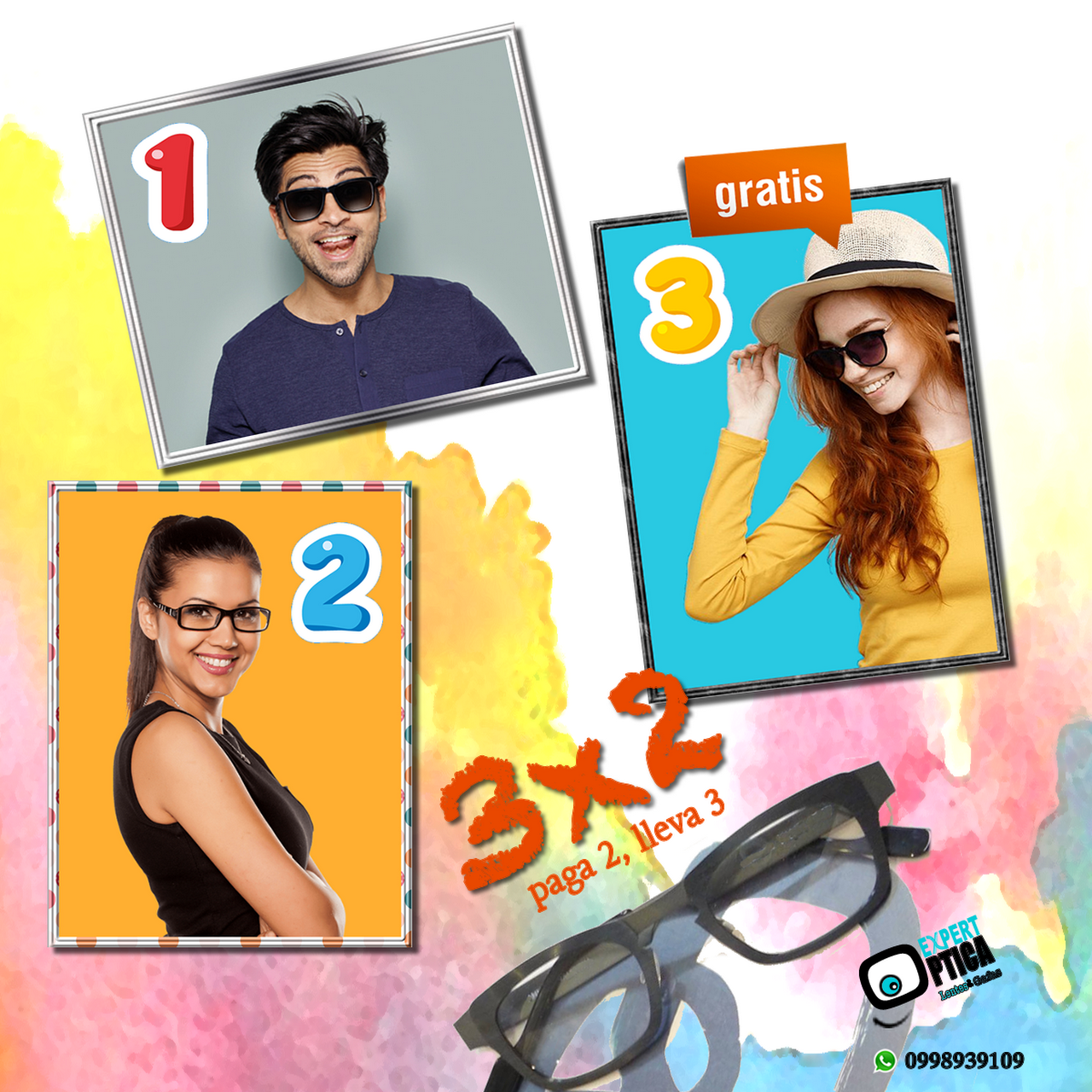 88764bfa5 Expert Óptica - Los lentes y gafas que elijas hablan de ti, muestran ...