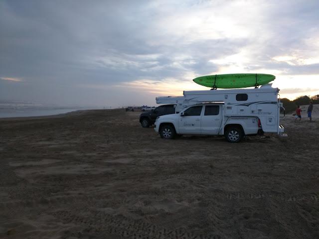 650SC y 600SS Techo Bajo, Playa