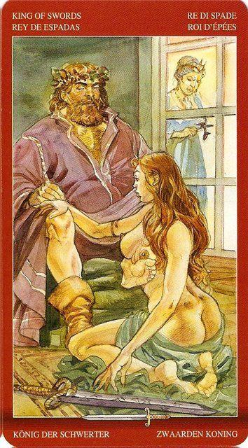 Луна таро сексуальной магии