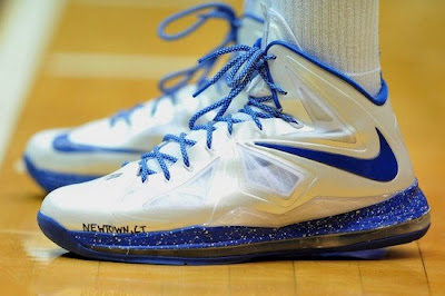 nike lebron 10 pe duke home 1 01 Wearing Brons: Nike LeBron X DUKE Home & Away Edition