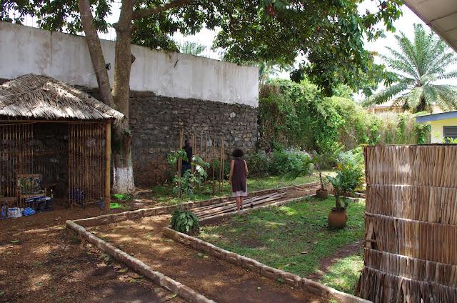 Jardin à Yaoundé (Cameroun), 4 avril 2012. Photo : J.-M. Gayman