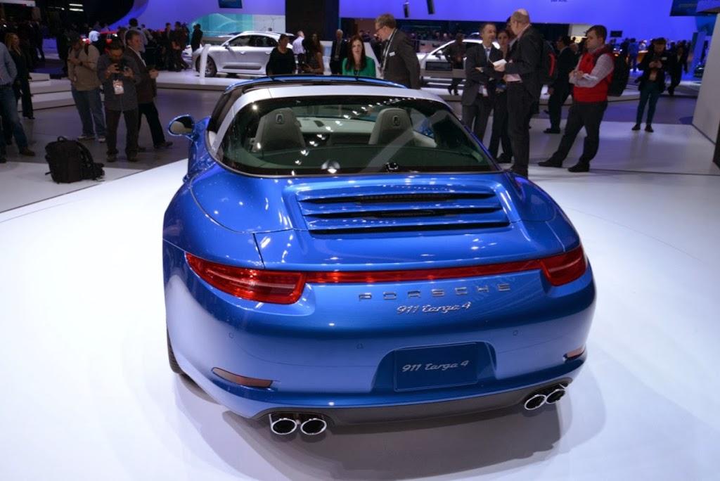 2014 Porsche 911 Targa 4 NAIAS 7